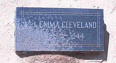 CLEVELAND, EMMA - Pinal County, Arizona | EMMA CLEVELAND - Arizona Gravestone Photos