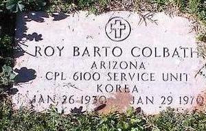 COLBATH, RAY BARTO - Pinal County, Arizona | RAY BARTO COLBATH - Arizona Gravestone Photos