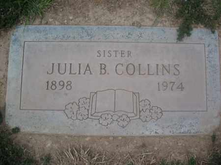 COLLINS, JULIA B. - Pinal County, Arizona | JULIA B. COLLINS - Arizona Gravestone Photos