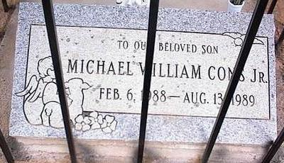 CONS, MICHAEL WILLIAM, JR. - Pinal County, Arizona | MICHAEL WILLIAM, JR. CONS - Arizona Gravestone Photos