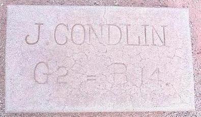 CONDLIN, J. - Pinal County, Arizona | J. CONDLIN - Arizona Gravestone Photos