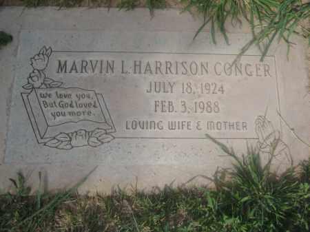 HARRISON CONGER, MARVIN I. - Pinal County, Arizona | MARVIN I. HARRISON CONGER - Arizona Gravestone Photos