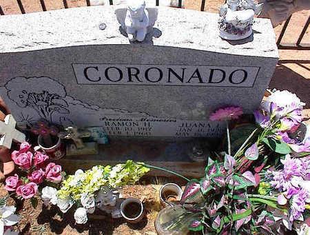 CORONADO, RAMON H. - Pinal County, Arizona | RAMON H. CORONADO - Arizona Gravestone Photos