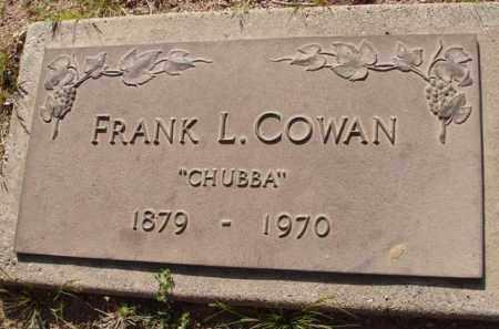 "COWAN, FRANK L. ""CHUBBA"" - Pinal County, Arizona | FRANK L. ""CHUBBA"" COWAN - Arizona Gravestone Photos"