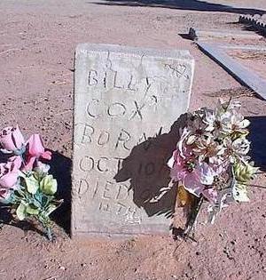 COX, BILLY - Pinal County, Arizona | BILLY COX - Arizona Gravestone Photos
