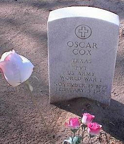 COX, OSCAR - Pinal County, Arizona | OSCAR COX - Arizona Gravestone Photos