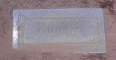 COX, ROLLIE - Pinal County, Arizona | ROLLIE COX - Arizona Gravestone Photos