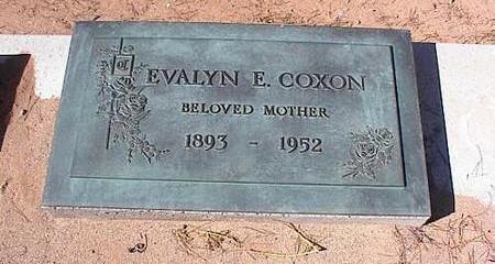 COXON, EVALYN E. - Pinal County, Arizona | EVALYN E. COXON - Arizona Gravestone Photos