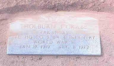 CRABB, THOLBURN J. - Pinal County, Arizona | THOLBURN J. CRABB - Arizona Gravestone Photos