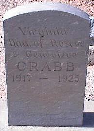 CRABB, VIRGINIA - Pinal County, Arizona   VIRGINIA CRABB - Arizona Gravestone Photos