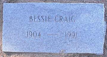 CRAIG, BESSIE - Pinal County, Arizona | BESSIE CRAIG - Arizona Gravestone Photos