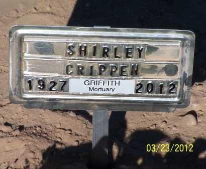 CRIPPEN, SHIRLEY HOPE - Pinal County, Arizona | SHIRLEY HOPE CRIPPEN - Arizona Gravestone Photos