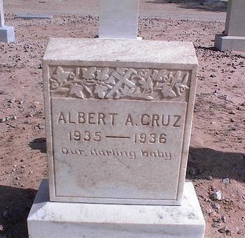 CRUZ, ALBERT A. - Pinal County, Arizona   ALBERT A. CRUZ - Arizona Gravestone Photos