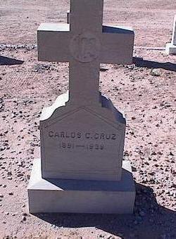CRUZ, CARLOS C. - Pinal County, Arizona | CARLOS C. CRUZ - Arizona Gravestone Photos