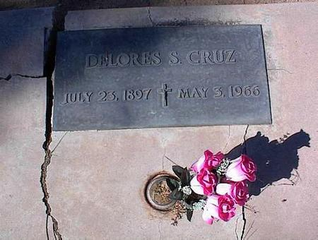 CRUZ, DELORES S. - Pinal County, Arizona | DELORES S. CRUZ - Arizona Gravestone Photos