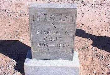 CRUZ, MANUEL C. - Pinal County, Arizona | MANUEL C. CRUZ - Arizona Gravestone Photos
