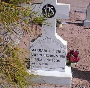 WISDOM, LILA J. - Pinal County, Arizona | LILA J. WISDOM - Arizona Gravestone Photos