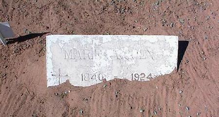 CUEN, MARIE ANTONIA - Pinal County, Arizona | MARIE ANTONIA CUEN - Arizona Gravestone Photos