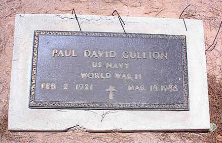 CULLION, PAUL DAVID - Pinal County, Arizona | PAUL DAVID CULLION - Arizona Gravestone Photos