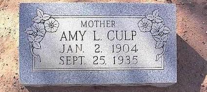 CULP, AMY L. - Pinal County, Arizona | AMY L. CULP - Arizona Gravestone Photos