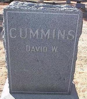 CUMMINS, DAVID W. - Pinal County, Arizona   DAVID W. CUMMINS - Arizona Gravestone Photos