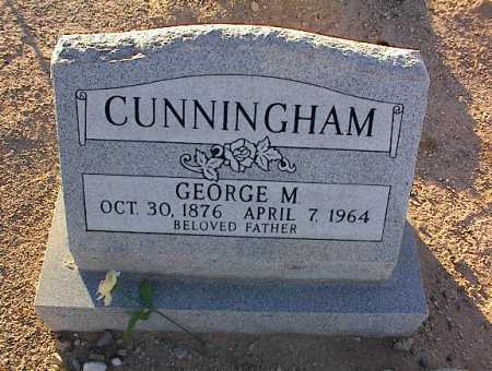 CUNNINGHAM, GEORGE M. - Pinal County, Arizona | GEORGE M. CUNNINGHAM - Arizona Gravestone Photos