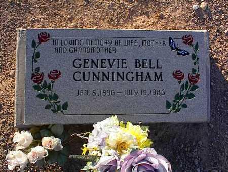 CUNNINGHAM, GENEVIE BELL - Pinal County, Arizona   GENEVIE BELL CUNNINGHAM - Arizona Gravestone Photos