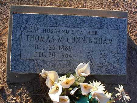CUNNINGHAM, THOMAS M. - Pinal County, Arizona   THOMAS M. CUNNINGHAM - Arizona Gravestone Photos