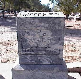 CURIEL, MARIE A. - Pinal County, Arizona | MARIE A. CURIEL - Arizona Gravestone Photos