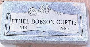 CURTIS, ETHEL - Pinal County, Arizona   ETHEL CURTIS - Arizona Gravestone Photos