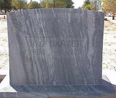 DARTER, H.G. - Pinal County, Arizona | H.G. DARTER - Arizona Gravestone Photos