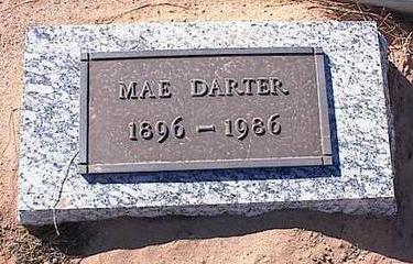 DARTER, MAE - Pinal County, Arizona | MAE DARTER - Arizona Gravestone Photos
