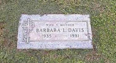 DAVIS, BARBARA L. - Pinal County, Arizona | BARBARA L. DAVIS - Arizona Gravestone Photos