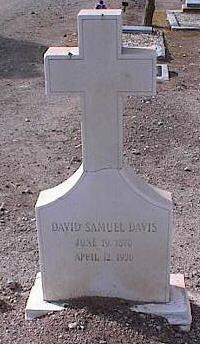 DAVIS, DAVID SAMUEL - Pinal County, Arizona | DAVID SAMUEL DAVIS - Arizona Gravestone Photos