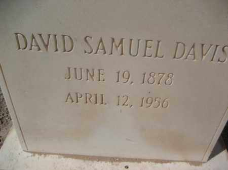 DAVIS, DAVID SAMUEL - Pinal County, Arizona   DAVID SAMUEL DAVIS - Arizona Gravestone Photos