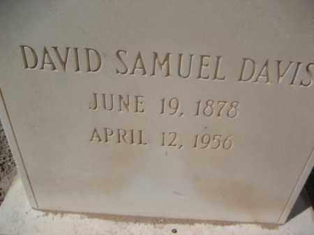 DAVIS, DAVID SAMUEL - Pinal County, Arizona | DAVID SAMUEL DAVIS - Arizona Gravestone Photos