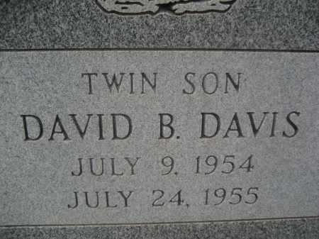 DAVIS, DAVID B. - Pinal County, Arizona | DAVID B. DAVIS - Arizona Gravestone Photos