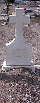 DAVIS, ELIZABETH - Pinal County, Arizona | ELIZABETH DAVIS - Arizona Gravestone Photos