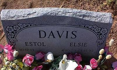 DAVIS, ELSIE - Pinal County, Arizona | ELSIE DAVIS - Arizona Gravestone Photos