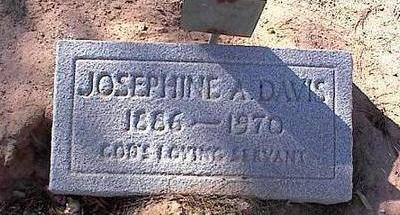 DAVIS, JOSEPHINE A. - Pinal County, Arizona | JOSEPHINE A. DAVIS - Arizona Gravestone Photos
