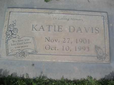 DAVIS, KATIE - Pinal County, Arizona | KATIE DAVIS - Arizona Gravestone Photos