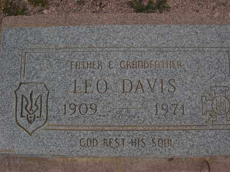 DAVIS, LEO - Pinal County, Arizona   LEO DAVIS - Arizona Gravestone Photos