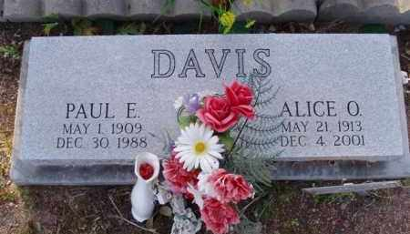 DAVIS, PAUL E. - Pinal County, Arizona | PAUL E. DAVIS - Arizona Gravestone Photos