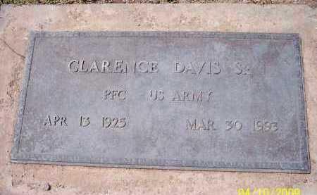DAVIS, CLARENCE, SR. - Pinal County, Arizona | CLARENCE, SR. DAVIS - Arizona Gravestone Photos