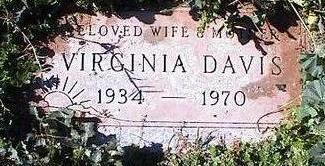DAVIS, VIRGINIA - Pinal County, Arizona | VIRGINIA DAVIS - Arizona Gravestone Photos