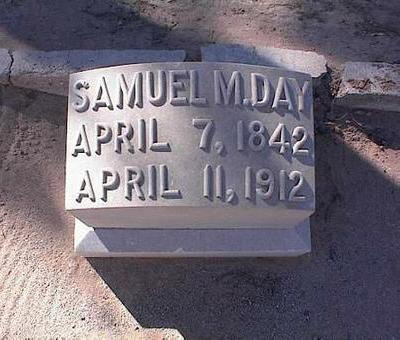 DAY, SAMUEL M. - Pinal County, Arizona | SAMUEL M. DAY - Arizona Gravestone Photos