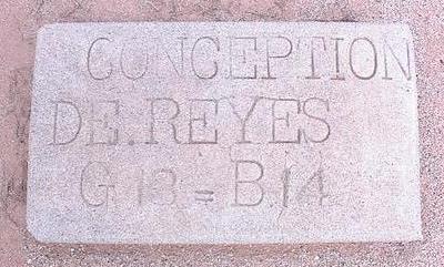 DE REYES, CONCEPTION - Pinal County, Arizona   CONCEPTION DE REYES - Arizona Gravestone Photos