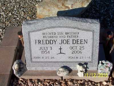 DEEN, FREDDY JOE - Pinal County, Arizona | FREDDY JOE DEEN - Arizona Gravestone Photos