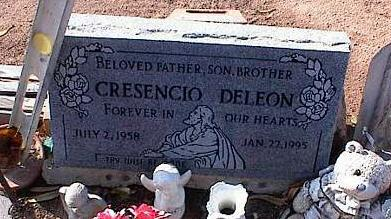 DELEON, CRESENCIO - Pinal County, Arizona | CRESENCIO DELEON - Arizona Gravestone Photos