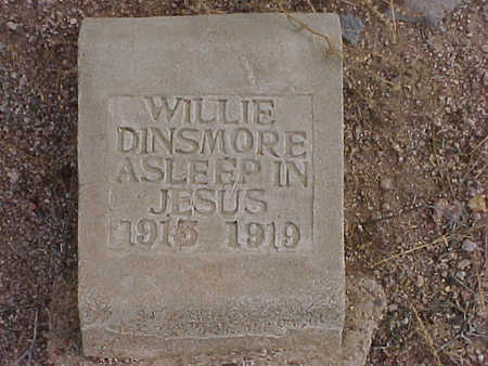 DINSMORE, WILLE - Pinal County, Arizona | WILLE DINSMORE - Arizona Gravestone Photos